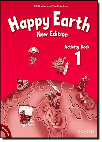 Happy Earth 1: Activity Book and Multi-ROM Pack New Edition (Happy Second Edition) - 9780194732888