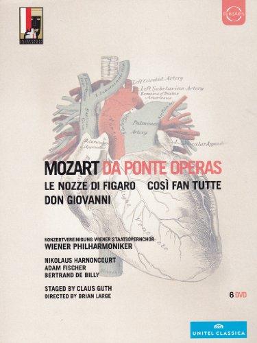 Wolfgang Amadeus Mozart - Da Ponte operas - Le nozze di Figaro + Don Giovanni + Così fan tutte