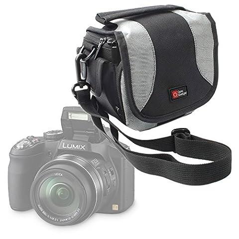 Etui de rangement à multiples poches pour appareil photo Panasonic Lumix DMC-G7 et DMC-GF7 -