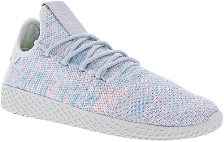 adidas Schuhe - Pw Tennis Hu grau/blau/rosa Größe: 38 2/3