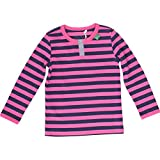 Fred's World by Green Cotton Baby - Mädchen Bluse Stripe granny, Gr. 68, Rosa (Magenta 017203601)