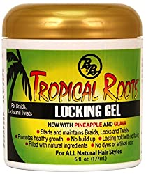 3 Pack - 4Naturals Tropical Roots Locking Gel 6 oz