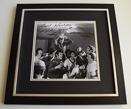 Sportagraphs-John-Greig-SIGNED-Framed-LARGE-Square-Photo-Autograph-display-Rangers-AFTAL-COA-perfect-gift