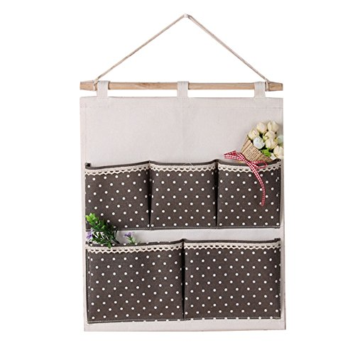 Laixing Multi-layer Wall Hanging Storage Bag Organizer Home Garden Yard