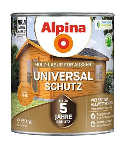 Alpina Holz-Lasur mit bis zu 5 Jahre Schutz