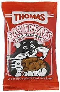Thomas salmon cat treats 100g (pack of 15)
