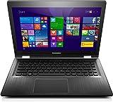 Lenovo YOGA 500 35,6 cm (14 Zoll Full HD IPS Matt) Convertible Laptop (Intel Core i5-5200U, 2,2GHz, 8GB RAM, Hybrid 1TB HDD + 8GB SSHD, NVIDIA GeForce 940M 2GB, Touchscreen, Windows 8.1) schwarz