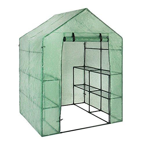 Copertura invernale per piante da giardino in pvc (solo copertura, senza ferro di supporto o vaso)