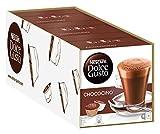 NESCAFÉ Dolce Gusto Chococino | 48 Kapseln Trinkschokolade | Feiner Kakao Geschmack | Cremige Milch und beste Schokolade | Schnelle Zubereitung | Aromaversiegelte Kapseln | 3er Pack (3 x 16 Kapseln)