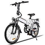 BIKFUN Vélo de Montagne Pliable pour vélo électrique, 26/20 pneus Vélo électrique pour vélo...