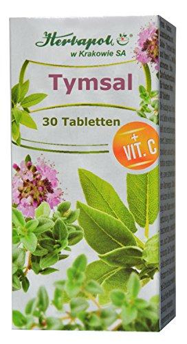 Halsschmerzen Schleim (Salbei- und Thymian Extrakt mit Vitamin C, 30 Lutschtabletten, antibakteriell, schleimlösend, effektiv bei Halsschmerzen, Halsentzündung, Zahnfleischentzündung, für frischen Atem, bei Erkältung, erkältungsmittel)