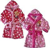 Disney Frozen Bademantel 2 versch Farben Rosa oder Pink (110, Rosa)