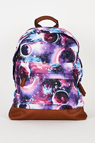 Star Dream ,  Unisex Erwachsene Rucksackhandtaschen Purple Canvas