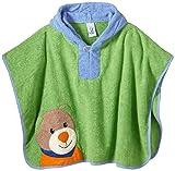 Sterntaler Baby - Jungen Bademantel, Einfarbig, Gr. One Size, Grün (Grün 254)