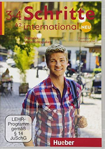 Schritte International. Neu. Deutsch als Fremdsprache. Digitales Unterrichtspaket. Per le Scuole superiori. DVD-ROM: SCHRITTE INT.NEU 3+4 DigUP