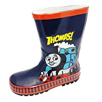 THOMAS THE TANK ENGINE 3D RUBBER WELLIES (UK child size 8)
