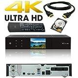 VU+ Duo 4K 1x DVB-S2X FBC Twin Tuner 2 TB HDD Linux Receiver UHD 2160p