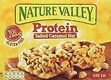 Nature Valley - Barritas de Proteinas con Salted Caramel Nut - Caja de 4 unidades
