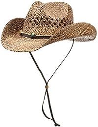 Chapeau Sacramento Cowboy chapeau de paille