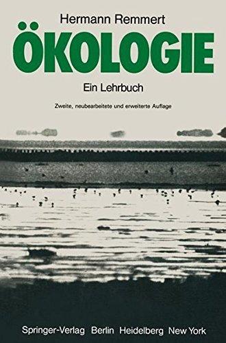 Ökologie: Ein Lehrbuch by Hermann Remmert (1980-03-01)