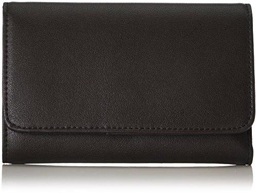 s.Oliver (Bags Damen Portemonnaie Geldbörse, Schwarz (Black), 1x10x15.5 cm
