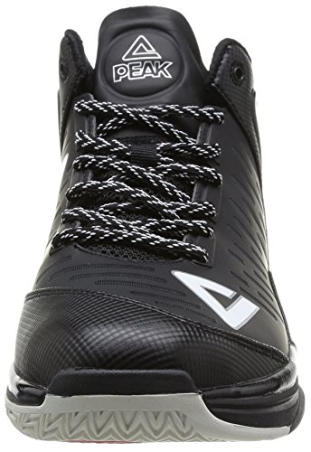Peak TP2, Chaussures de basketball homme Noir (Black/White)