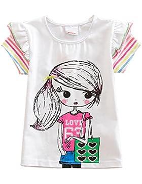 VIKITA - Camiseta de manga corta - Manga corta - para niña