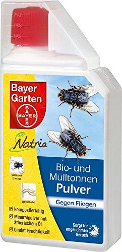 Bayer Garten Natria Bio-Mülltonnenpulver, Gelb, 500 g