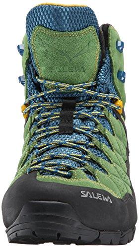 Salewa Alp Trainer Mid, Chaussures de Randonnée Hautes Homme Vert (Treetop/Ringlo 5581)