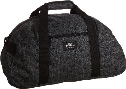 O\'Neill Sporttasche AC Waterfall Small Sportsbag, black aop, 26 x 50 x 20 cm, 22 liters, 329070