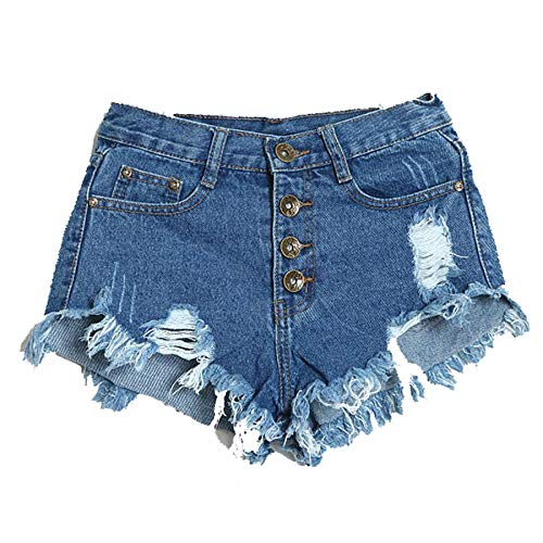 Malloom-Bekleidung Frauen Sommer Mode Weinlese Denim Niedrige Taille Jean Shorts Hot Pants -