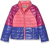 United Colors of Benetton Jacket, Chaqueta para Niñas, Multicolor (Multicolor Pink,Purple, Blue 903), 134 (Talla del fabricante: Large)