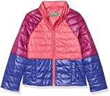 United Colors of Benetton Mädchen Jacke Jacket, Mehrfarbig (Multicolor Pink,Purple, Blue 903), 98 (Herstellergröße: 2Y)