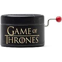 Piccolo carillon manovella decorato in nero con la melodia di Game of Thrones GOT. Un regalo per i fan della serie. Il…