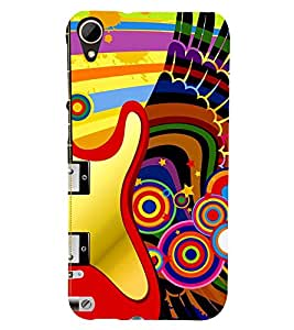 Fuson 3D Designer Back Case Cover For HTC Desire 828