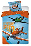 Disney Planes Bettwäsche Bettgarnitur - SPEED - 140 x 200 cm