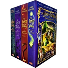 Land of Stories Chirs Colfer Collection 4 Books Box Set (Book 1-4) (Wishing Spell, Grim Warning, Enchantress Returns)