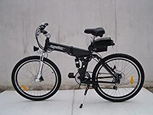 Folding Electric Bike 250w with a 36v10ah lithium battery Limitless Sharing from limitless sharing