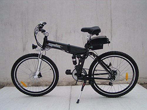 Folding Electric Bike 250w with a 36v10ah lithium battery Limitless Sharing (black)