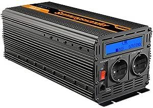 Edecoa Spannungswandler 24v 230v Wechselrichte 3000w 24 Elektronik