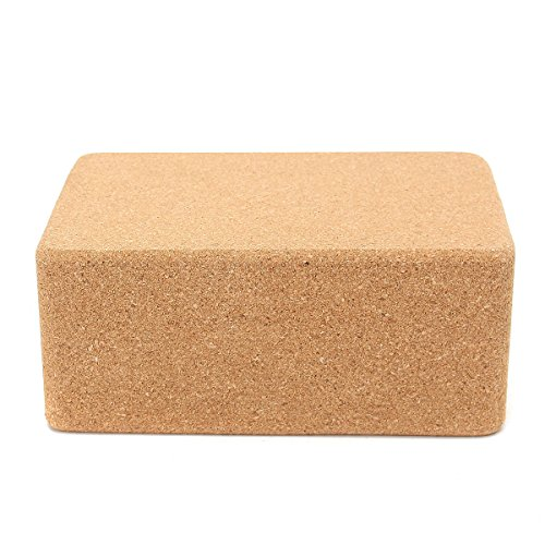 Bluelover Yoga Cork Block Home Stretch Fitnesstraining Pilates Brick - #001