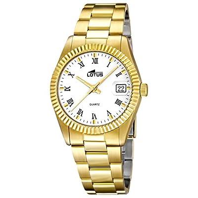 Lotus Classic 15824/1 - Reloj De Mujer En Acero Chapado En Oro Nuevo GarantÍa 2 AÑos de LOTUS