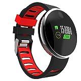 NEWYES Fitnesstracker Pulsuhr Videoeffekt bunten Bildschirm Fitnessuhr Blutdruck Schlafmonitor Plus