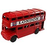 Einzigartige Gehäuse aus druckgegossener London britischer Bus, Route Master, Routemaster Bus, rot, einen Spitzer Wahrhaft Sammlerstück, Souvenir, Souvenir/Speicher-Memoria! Sweet Charming, UK-Sammelfigur Anspitzer Modell ein unvergessliches London Bus!!-Crayon Größe Souvenir Bleistiftspitzer// Temperamatita/Sacapuntas!