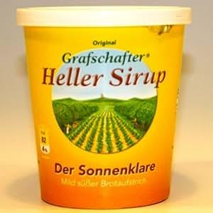 Grafschafter Krautfabrik, Grafschafter Heller Sirup Sonnenklar 450g
