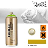 Montana Cans 283956 Montana Spray Dose Gold 400ml, Gld400-1050-Curry