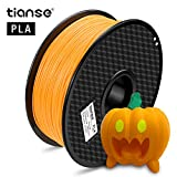 TIANSE Imprimante 3D Filament PLA 1.75mm 1KG, Orange