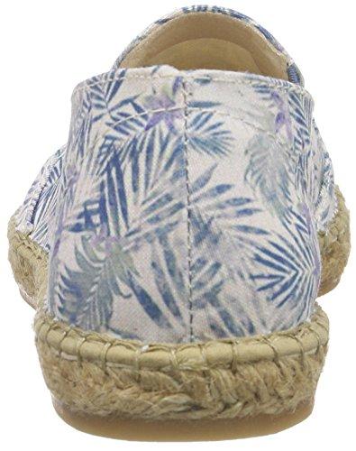 Macarena Tropical, Espadrilles femme Bleu - Bleu azur