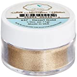 Elizabeth Crafts Silk Microfine Glitter 11 Grams-Desert Gold