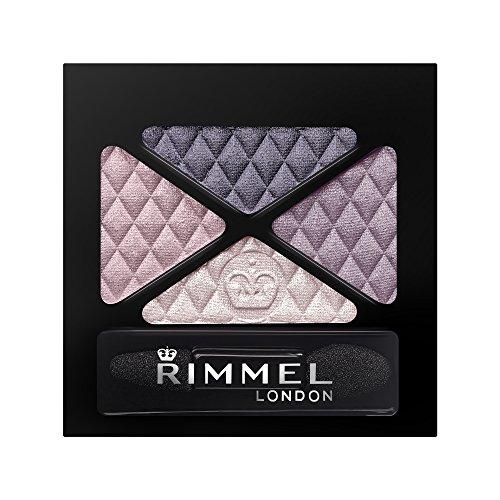 RIMMEL LONDON Glam Eye Shadow Quad - Smokey Purple